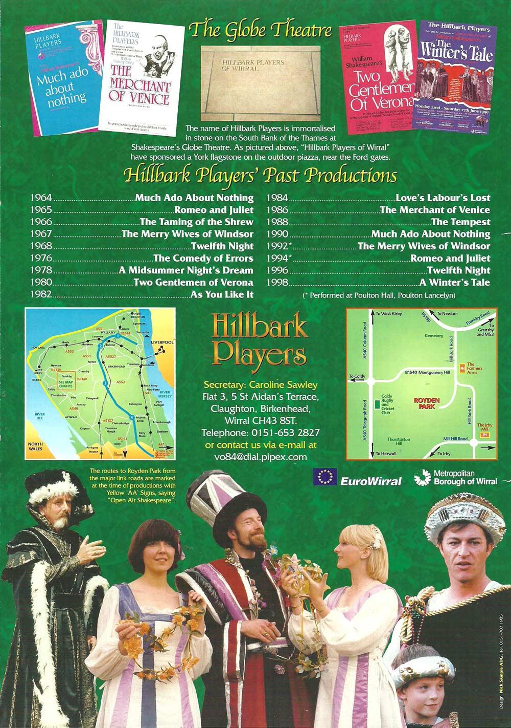 promotional leaflet